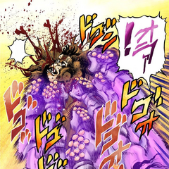 Star Platinum puts an end to Forever's life