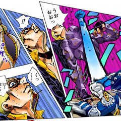 The Stand attacking <a href=