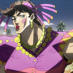 Joseph in drag trying to fool Nazis