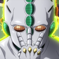 Echoes ACT3 explains its unique power to Koichi.