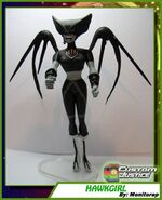 Hawkgirl Black Lantern 01