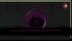 CompleatBellairs talisman manifest
