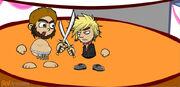 Swordfightingshermvscaveman