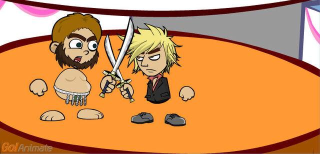 File:Swordfightingshermvscaveman.jpg