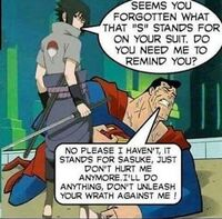Supes finally learns....