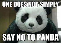 One Does Not Simply Say No To Panda