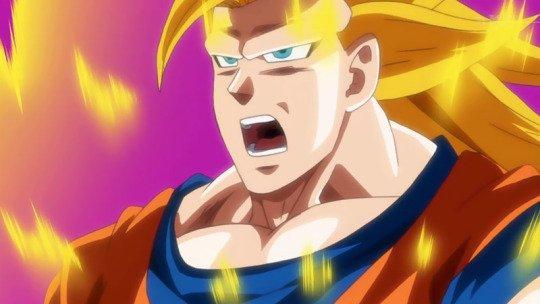Badly Animated SSJ3 Goku