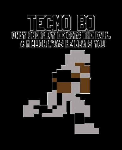 Bo Jackson Tecmo Bowl Render By Skodwarde