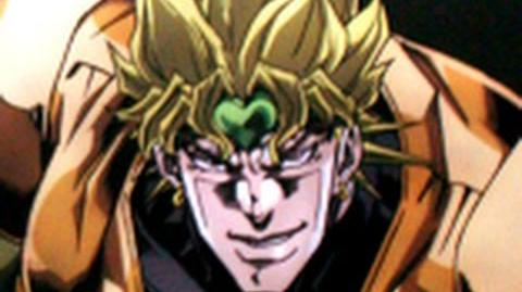 "DIO says ""Za Warudo Toki wo Tomare"" 16384 times because Sony Vegas kept crashing."