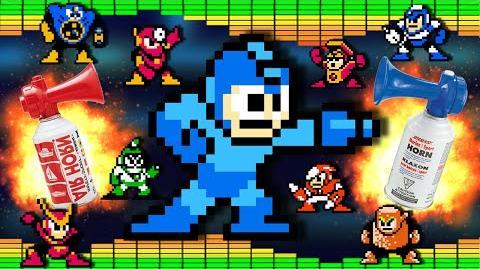 Mega Man II - Airhorn Remix