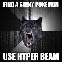 Insanity Wolf Shiny Pokemon