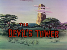 The Devil's Tower title card
