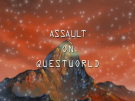 Assault on Questworld title card