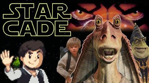 JonTron's StarCade- Episode 5 - The Phantom Menace Games
