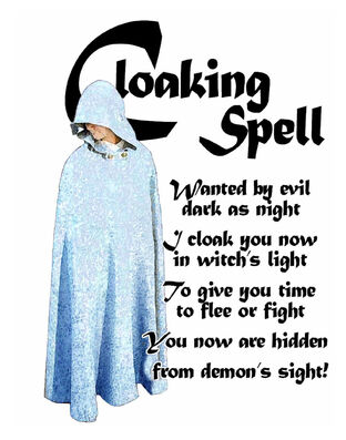Cloaking Spell (Blue Version)