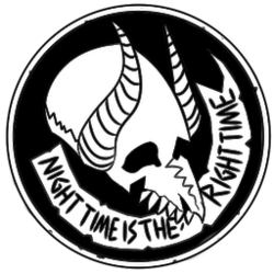 Icon skull-white