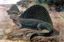 Dimetrodon creature