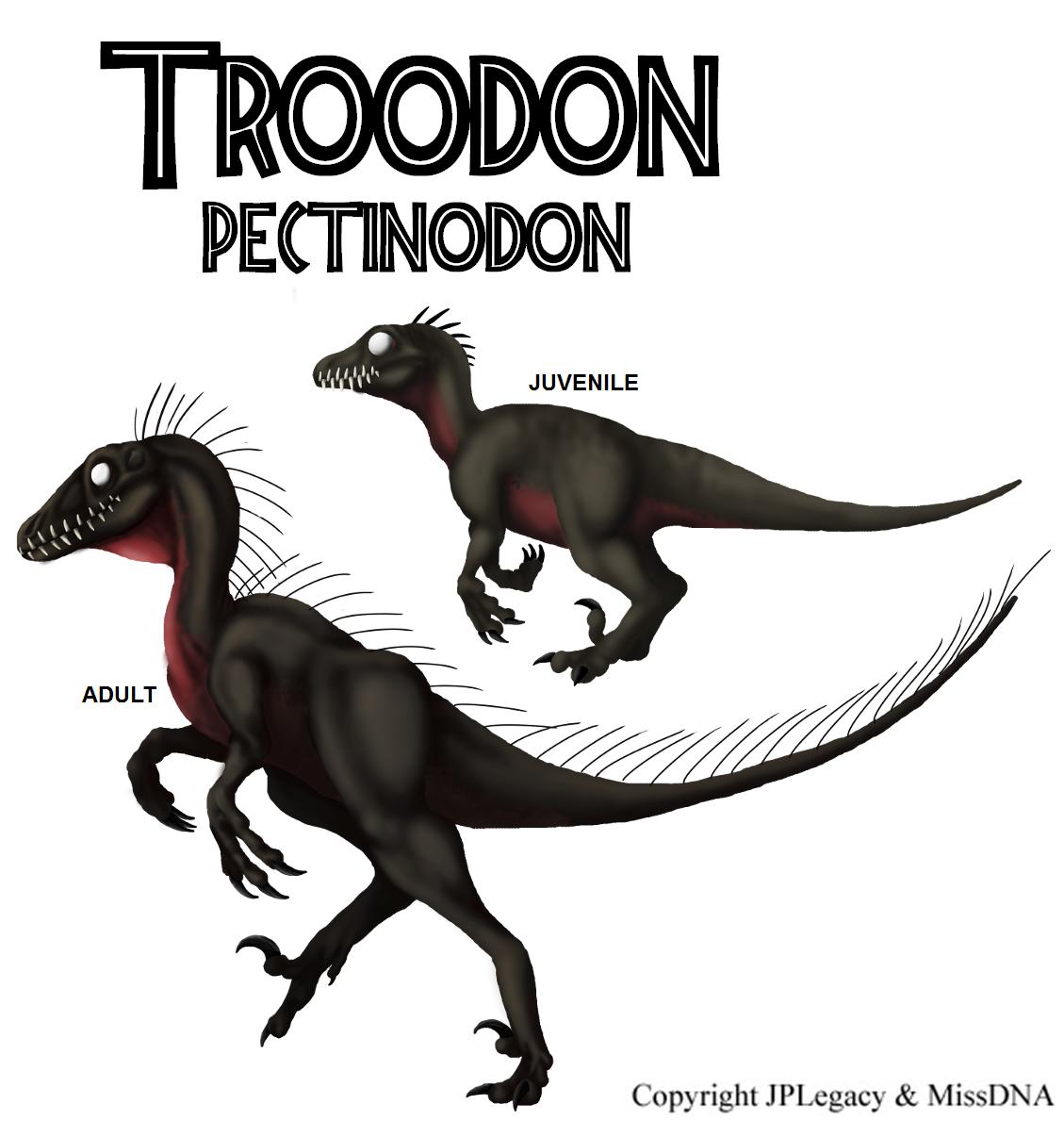 Troodon Quot Pectinodon Quot Jpl Live The Legend Wiki Fandom