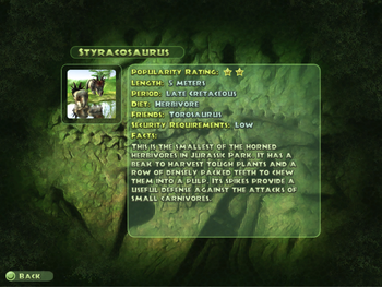 Styracosaurus Dinopedia
