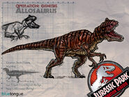 Allosaurus W