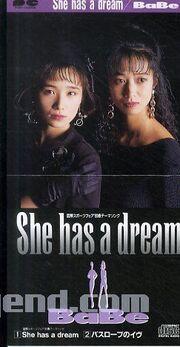 She has a dream 2