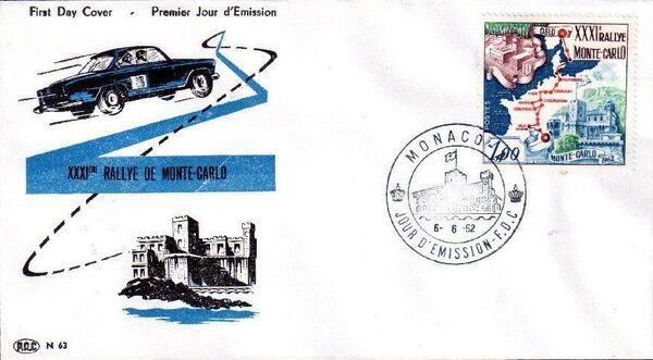 Monaco 1962 31th Monte Carlo Automobile Rally b