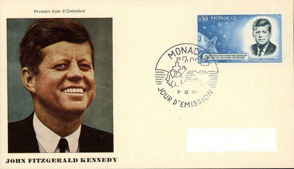 Monaco 1964 Pres. John F. Kennedy and Mercury Capsule k