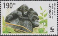 Congo, Democratic Republic of 2002 WWF Gorillas b