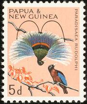 Papua New Guinea 1965 Birds c