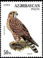 Azerbaijan 1994 Birds of prey e