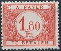 Belgium 1949 Postage Due Stamps (Digit on White Background) b.jpg