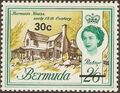 Bermuda 1970 Definitive Issue of 1962 Surcharged m.jpg