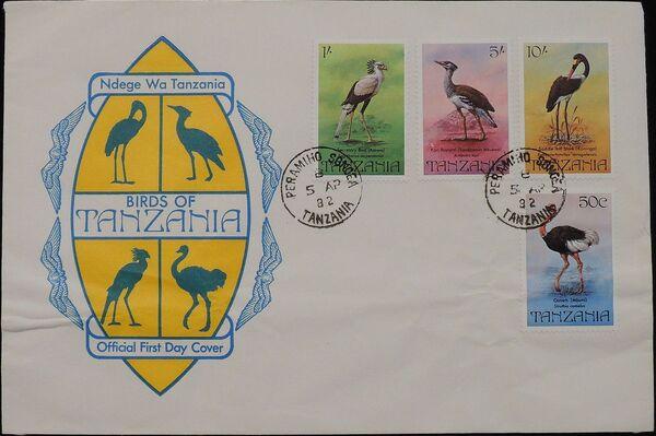 Tanzania 1982 Birds f