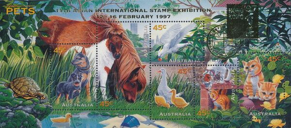 Australia 1996 Pets k