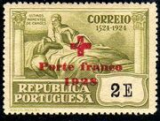 Portugal 1928 Red Cross - 400th Birth Anniversary of Camões f
