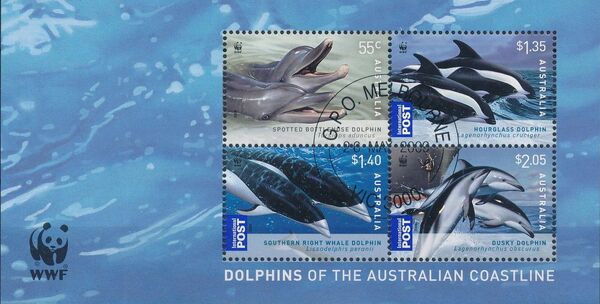 Australia 2009 WWF - Dolphins of the Australian Coastline f