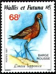Wallis and Futuna 1987 Birds f