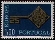 Portugal 1968 Europa 1$00
