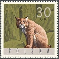 Poland 1965 Forest Animals b