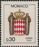 Monaco 1985 National Coat of Arms - Postage Due Stamps (1st Group) e
