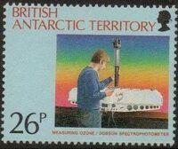 British Antarctic Territory 1991 Antarctic Ozone Hole b