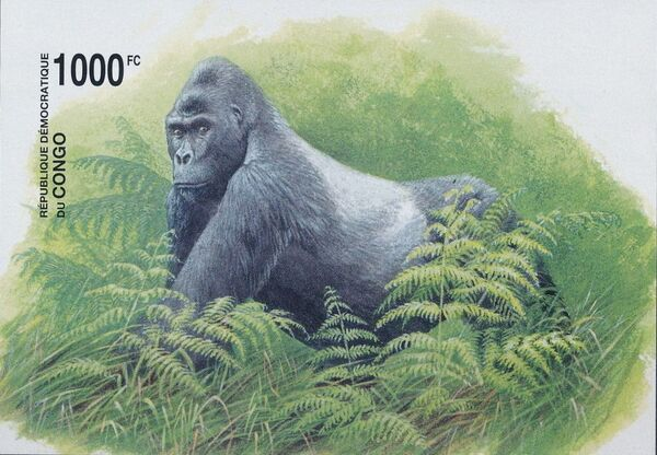 Congo, Democratic Republic of 2002 WWF Gorillas f