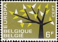 Belgium 1962 Europa-CEPT b