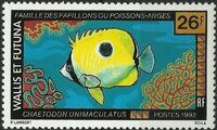 Wallis and Futuna 1992 Fishes f