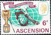 Ascension 1966 World Cup Soccer b