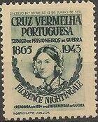Portugal 1943 - Red Cross - Cinderellas Cinderella b