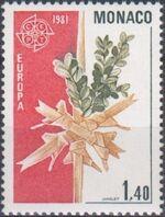 Monaco 1981 EUROPA - Folklore a