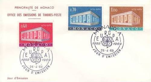 Monaco 1969 Europa f
