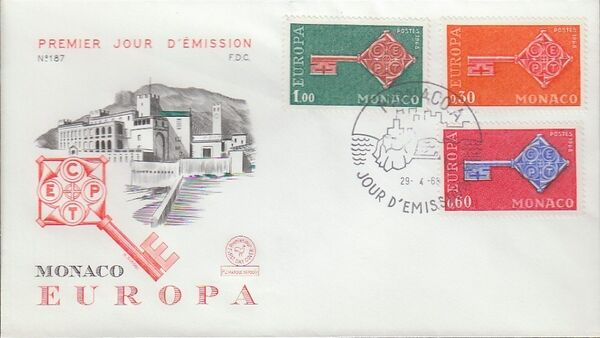 Monaco 1968 Europa d