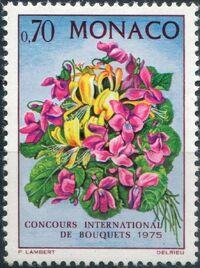 Monaco 1974 International Flower Show - Monte Carlo a